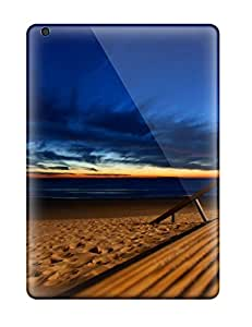 Ipad Air Case Slim Ultra Fit Beach Blue Skies Protective Case Cover