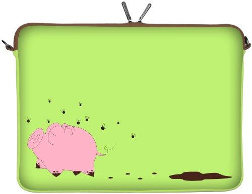 250ml Net (DIGITTRADE LS158-10 Happy Piggy Designer Netbook Sleeve 10.1