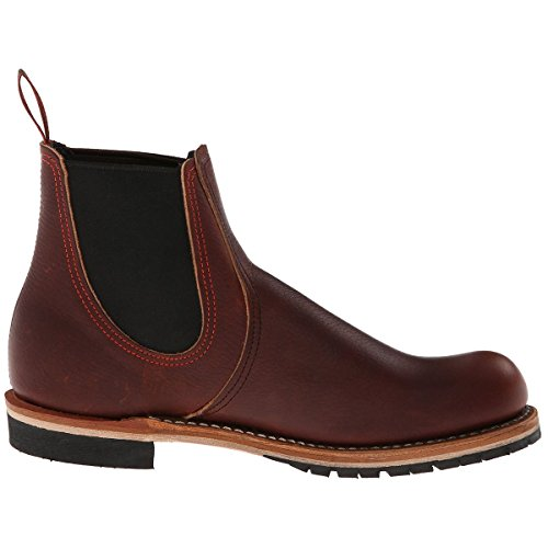 Red Wing Heritage Men's Chelsea Rancher, Brown, 10.5 D (M) (Red Vintage Wing)