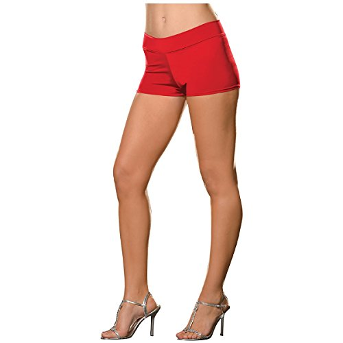 (Roxie Hot Shorts Adult Underwear Red - Plus Size 3X/4X)
