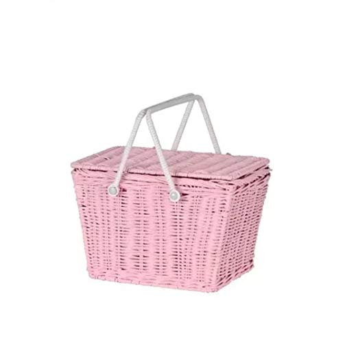 Fashion Woven Beach Handbags Ladies Rattan Tote Travel Straw Clutch Women Summer Wicker Basket Bag