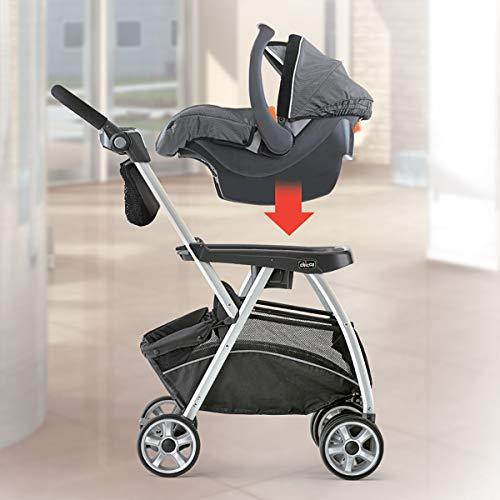 4151sbAtigL - Chicco KeyFit Caddy Frame Stroller