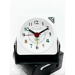 TRAVEL OR DESK ALARM CLOCK (2 pack)