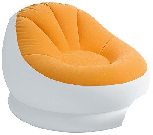 w/Ottoman, Orange