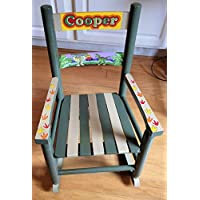 TWO COLOR TODDLER ROCKING CHAIR