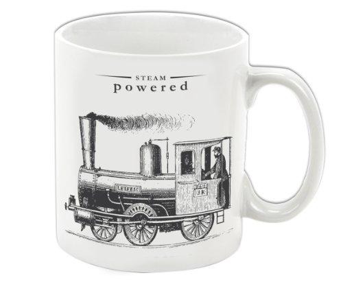 Gift Republic Steam Powered Porcelain Mug Victoriana, Multic
