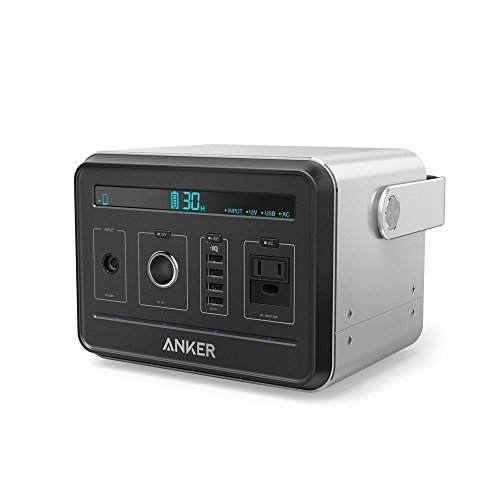 Anker Powerhouse, Compact 400Wh / 120000mAh Portable Outlet, Generator Alternative Rechargeable Power Source with...