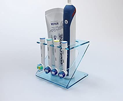 Soporte de cabezal de cepillo de dientes eléctrico, soporte para 4 cabezales del