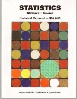 STATISTICS >CUSTOM< James T. McClave