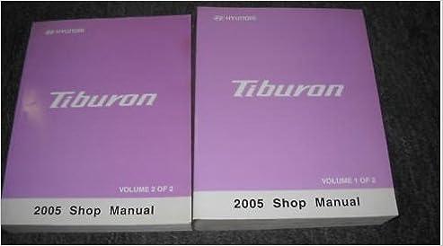 hyundai tiburon repair manual