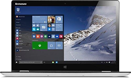 Lenovo YOGA 700-14ISK 35,6 cm (14 Zoll Full HD IPS) Slim Convertible Notebook (Intel Core i5-6200U, 4GB RAM, Hybrid 500GB HDD + 8GB SSHD, Multi-Touch, Windows 10 Home, Touchscreen) weiß