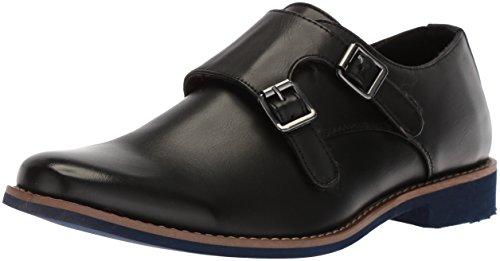 Deer Stags Boys' Harry Monk-Strap Loafer Black 13.5 M Medium US Little - Kids Dress Shoes Boys