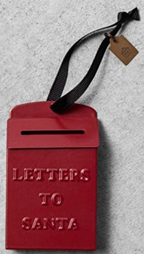 Hearth and Hand Magnolia Letters to Santa Mailbox Ornament RED 2018