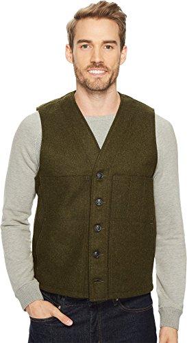 - Filson Men's Mackinaw Wool Vest Forest Green Large
