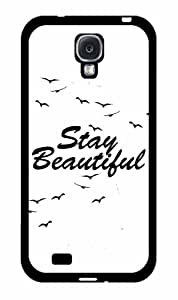 Stay Beautiful - Phone Case Back Cover (Galaxy s4 - rubber)