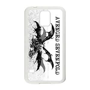 CTSLR Avenged Sevenfold A7X Hard Case Cover Skin for Samsung Galaxy S5-1 Pack -5 by Maris's Diary