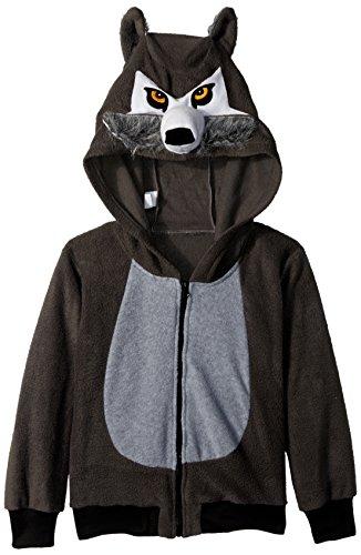 RG Costumes 'Funsies' Willie Wolf Hoodie, Child Medium/Size 8-10 ()