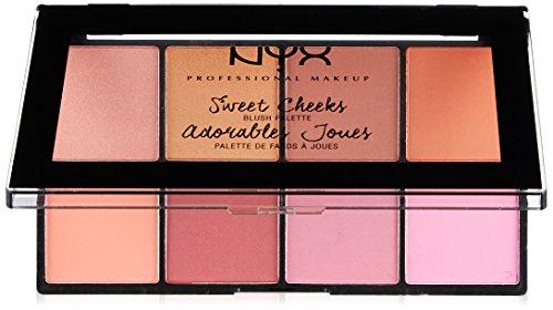 Blush Palette - NYX Professional Makeup Sweet Cheeks Blush Palette