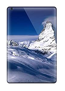 Hot Anti-scratch And Shatterproof Matterhorn Valais Switzerland Phone Case For Ipad Mini 3/ High Quality Tpu Case