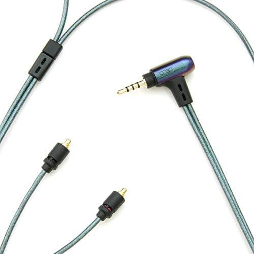 [해외]Onso 05 2.5 (4 극)-MMCX (LR) 균형 연결 이어폰 케이블 1.2 m / onso 05 2.5 (4 pole) -MMCX(LR) earphone cable for balance connection 1.2m