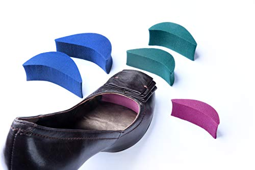 Shoe Filler 3 Sizes Pack for Shoes Too Big Inserts for Men and Women