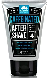 Pacific Shaving Company Caffeinated Aftershave 3 oz