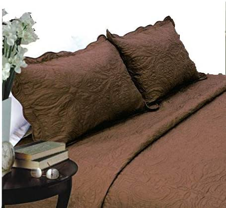Amazon Com All For You 2 Piece Embroidered Pillow Shams King Size