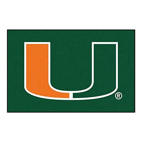 FANMATS 8487 University of Miami Rookie Mat (18
