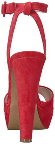 Vestido De La Sandalia De Color Ámbar Steve Madden De Las Mujeres Ante Rojo Footlocker Imágenes en línea Nicekicks Barato en línea Mejores precios de venta cOz1A51