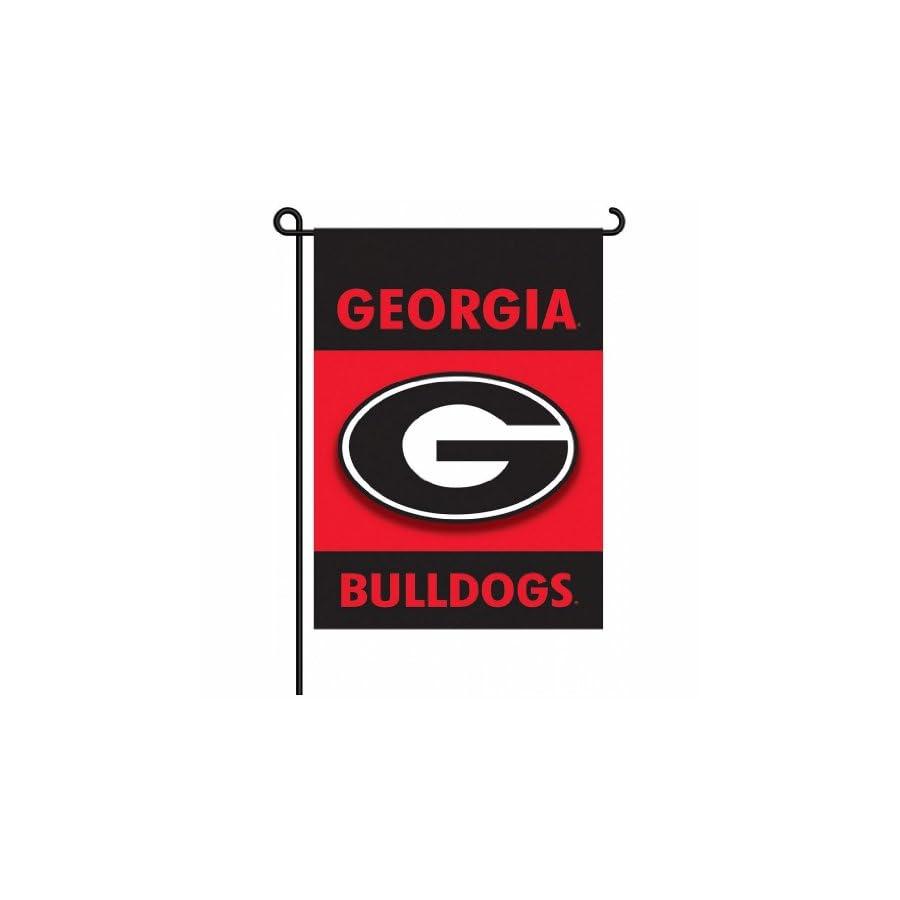 Georgia Bulldogs 2 Sided Garden Flag