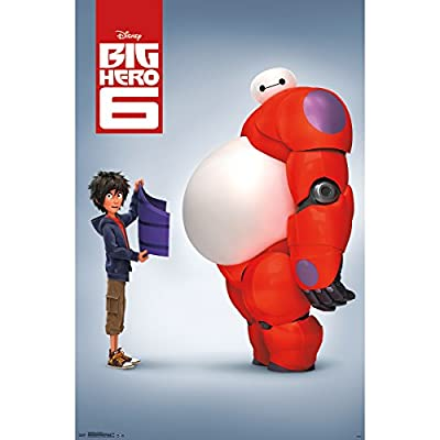 Big Hero 6-Baymax Poster, 22-Inch by 34-Inch (Poster
