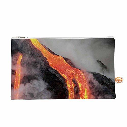 Kess eigene 12,5x 21,6cm Original Hawaiian Lava Alles Tasche–Orange/Rot