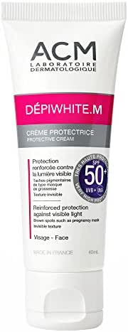 ACM Depiwhite M Cream - Protective Cream - SPF50+ 40ml/1,7 oz - Pantalla Solar