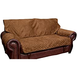 Solvit Loveseat Full Coverage Pet Bed Protector, Cocoa