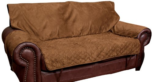 PetSafe Solvit Loveseat Full Coverage Pet Bed Protector, Coc