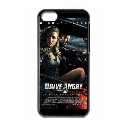 Drive Angry coque iPhone 5C Housse téléphone Noir de couverture de cas coque EOKXLLNCD18497