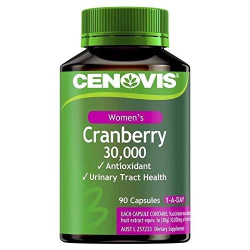 Cenovis Cranberry 30000mg 90 Capsules Exclusive Size
