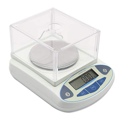 High Precision Lab Scale Digital Analytical Electronic Balance Laboratory Lab Precision Scale Jewelry Scales Kitchen Precision Weighing Electronic Scales 0.01g Calibrated & Ready to use (3000g, 0.01g)