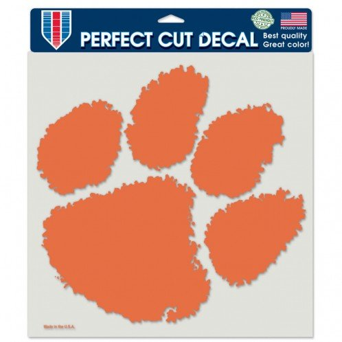 WinCraft NCAA Clemson Tigers Die-Cut Color Decal, 8
