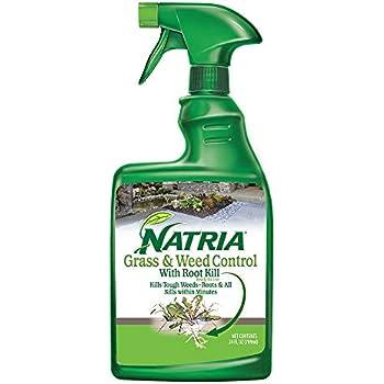 Amazon.com : Natria 100532521 Grass & Weed Control with