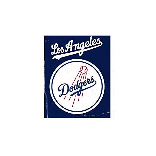 "50"" x 60"" Marque Fleece Throw Blanket Blanket: MLB Los Angeles Dodgers"