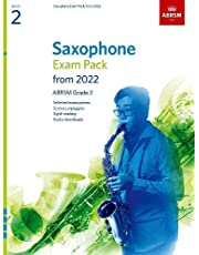 Saxophone Exam Pack from 2022, ABRSM Grade 2: Selected from the syllabus from 2022. Score & Part, Audio Downloads, Scales & Sight-Reading