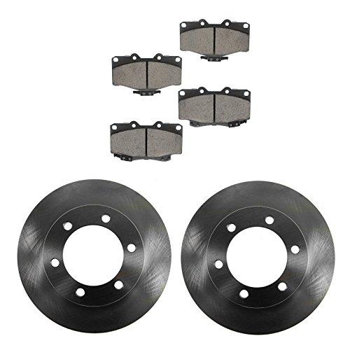(Brake Pad & Rotor Kit Posi Ceramic Front for 96-02 Toyota 4Runner)