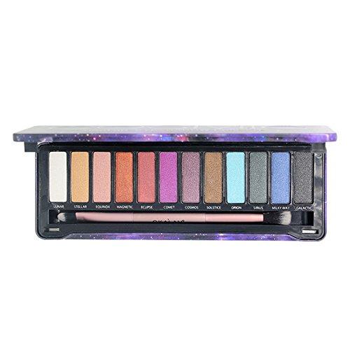 第九尋ねるジョットディボンドン(3 Pack) OKALAN Natural (Cosmic) Eyeshadow Palette (並行輸入品)