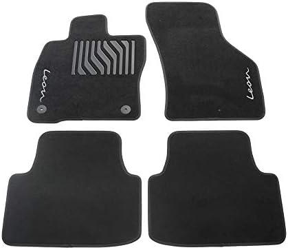 Original SEAT Toledo Fußmatten Satz 4-Teilig Velour schwarz 6JA061675041