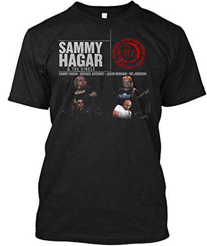 (Sammy Hagar & The Circle PIPA 2 Tee|T-Shirt Black)