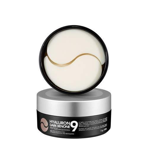Eye Peel - [Medi-Peel] Hyaluron Peptide9 Ampoule Eye Patch, 1.6g x 60 piece | Moisturizer for Eye Zone (Dark Benone)