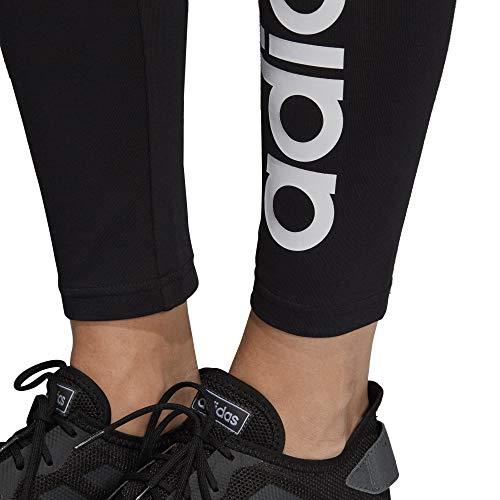 Adidas blanco Mujer Medias Essentials Linear Negro xRHqq70Uw