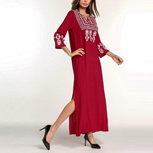 Caftanes Womens Marroquíes Jalabiyas de de para Malay Moda Dresses Evening Zhhlaixing Party festivos Medio Kaftan Días Oriente Diseño Dubai Pw7FHfdfqn