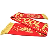 Liverpool FC - Exclusive EPL Imported Knit Scarf YNWA Red/Gold